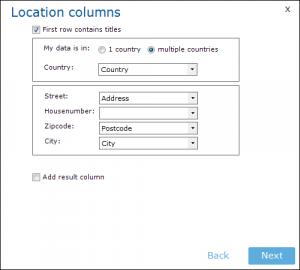 Location-Columns