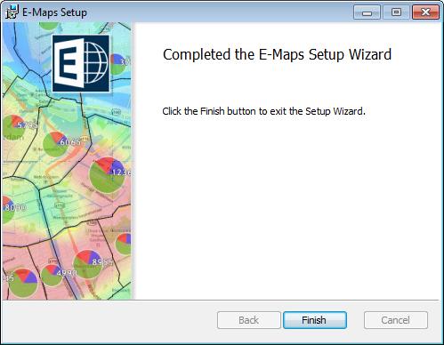 E-Map Setup Complete