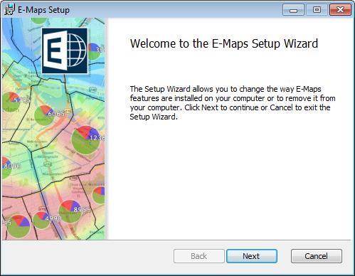 E-Maps installing / installeren