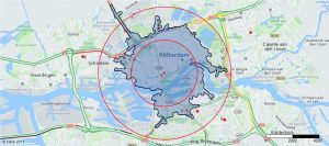 Traffic (real time), isochrone and ring buffer